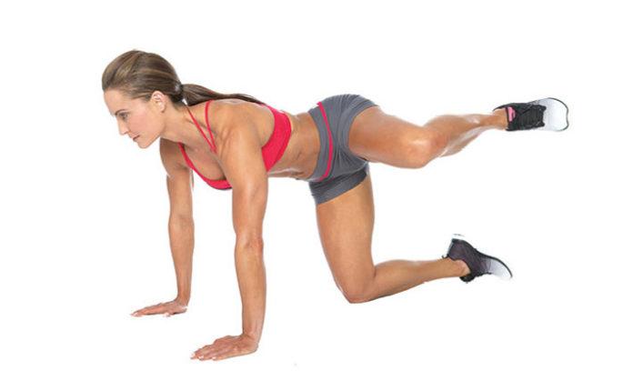 Как сделать ягодицы подтянутыми упражнения