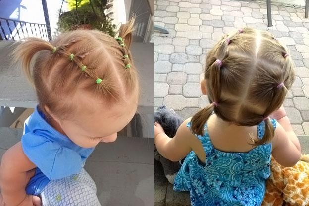 Причёски для детей 4 года с короткими волосами