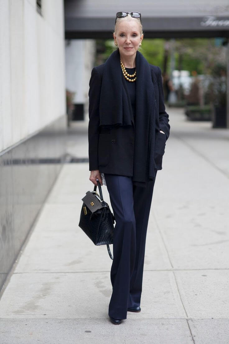 Уличная мода после 50, или как выглядит стильная зрелость новые фото