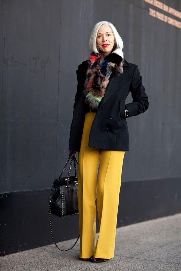Уличная мода после 50, или как выглядит стильная зрелость изоражения