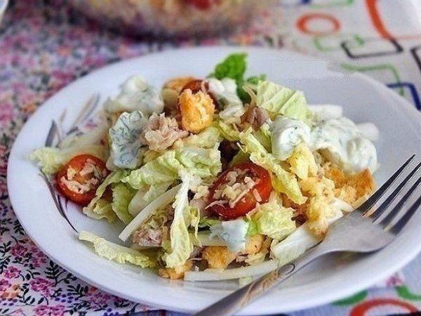 ТОП-6 салатов с пекинской капустой